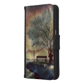 Awesome winter Impression C Samsung Galaxy S6 Wallet Case
