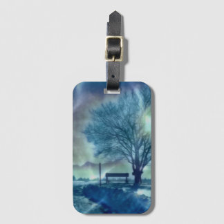 Awesome winter Impression Luggage Tag