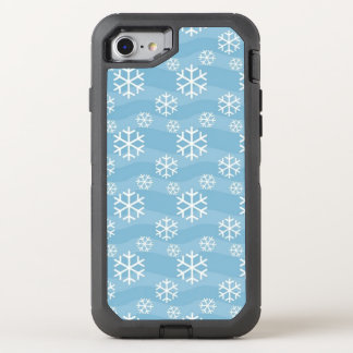awesome winter snowflakes OtterBox defender iPhone 7 case
