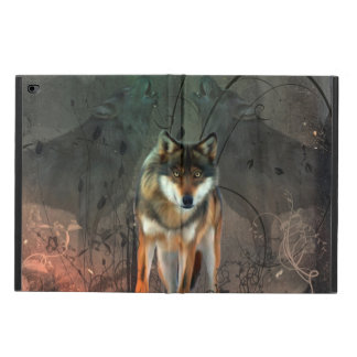 Awesome wolf on vintage background powis iPad air 2 case