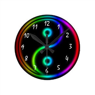 Awesome Yin and Yang Clock