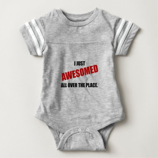 Awesomed All Over The Place Baby Bodysuit