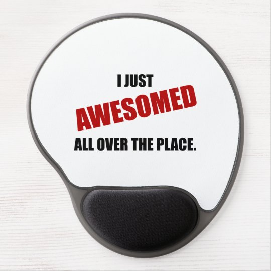 Awesomed All Over The Place Gel Mouse Pad