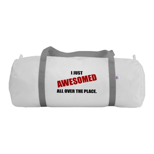 Awesomed All Over The Place Gym Bag