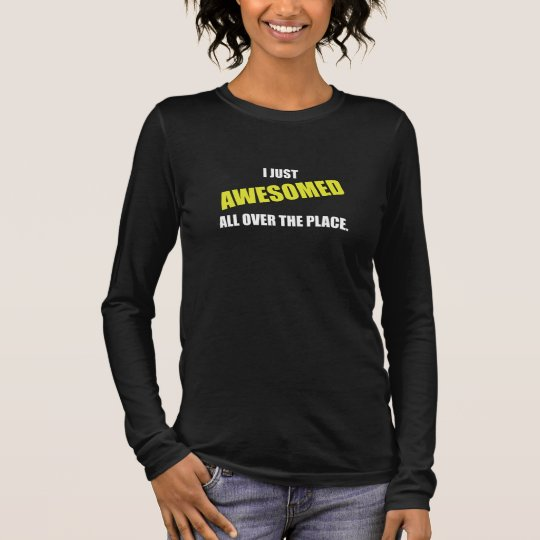 Awesomed All Over The Place Long Sleeve T-Shirt