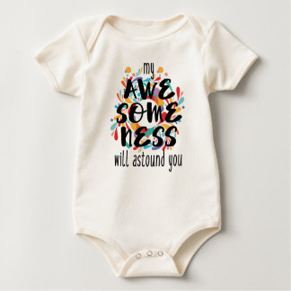 Awesomeness Baby Bodysuit