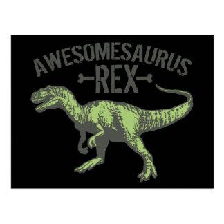 Awesomesaurus Rex Postcard