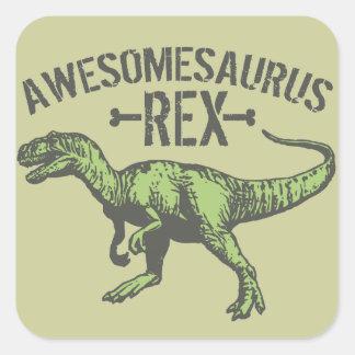 Awesomesaurus Rex Sticker
