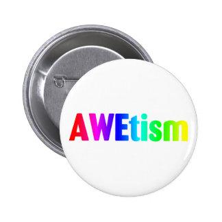 AWEtism 6 Cm Round Badge