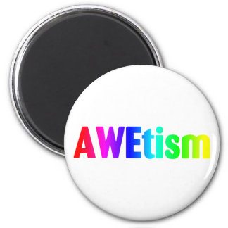 AWEtism 6 Cm Round Magnet
