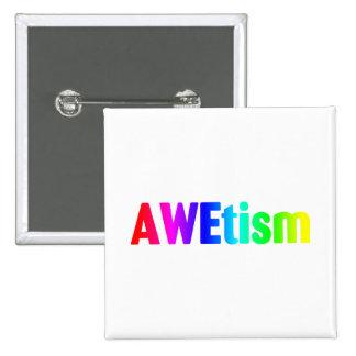 AWEtism - Customized Pins