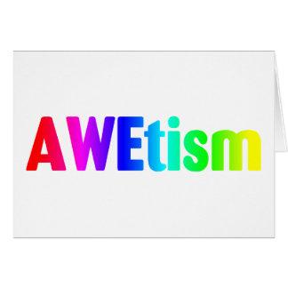 AWEtism Greeting Card