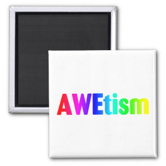 AWEtism Square Magnet