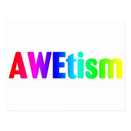 AWEtism Postcards