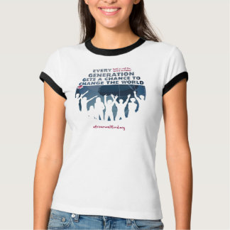 AWF Bono Birthday Well Ladies Tshirt Ringer