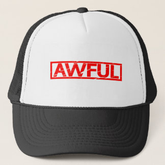 Awful Stamp Trucker Hat