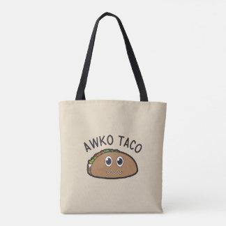 Awko Taco Tote Bag