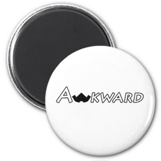 Awkward Objects & Apparel 6 Cm Round Magnet