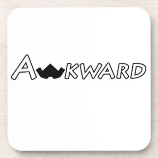 Awkward Objects & Apparel Coaster