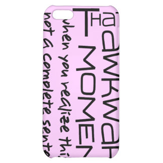 Awkward Sentence iPhone 5C Covers