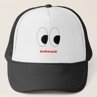 awkward! trucker hat