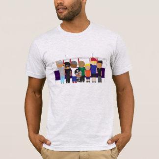 Awkward Urban Squished Bus T-Shirt