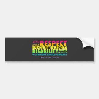 AWN Rainbow Pride Bumper Sticker