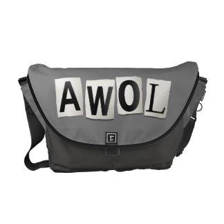 AWOL. MESSENGER BAGS
