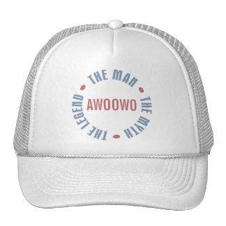 Awoowo Man Myth Legend Customizable Cap