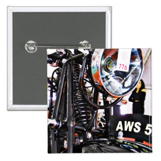 AWS 5 Vintage motorcycle front view Pin