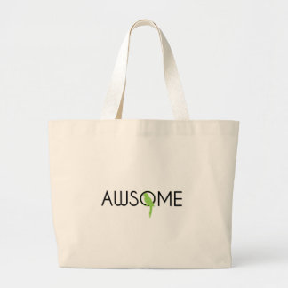 Awsome things for awsome people canvas bags