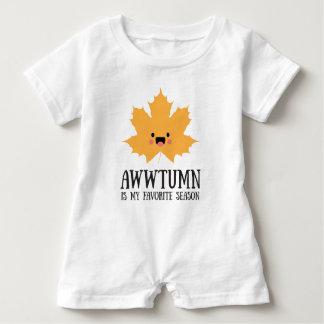 Awwtumn is my Favorite Season | Baby Romper Baby Bodysuit
