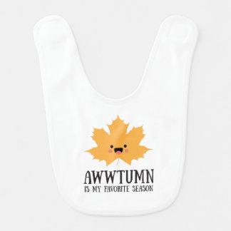 Awwtumn is my Favorite Season   Bib