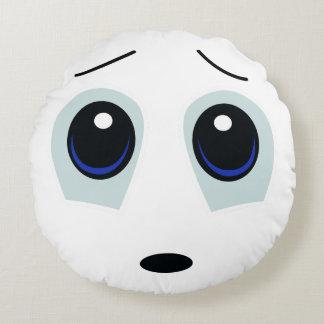 Awwww Sad Face Pillow