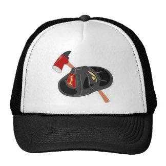 ax and helmet mesh hats