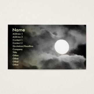 AX- Moonlight business cards