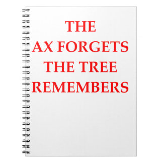 AX SPIRAL NOTE BOOK