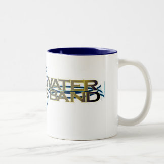 axe grinder Two-Tone mug
