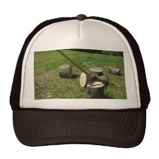 Axe in Wood Cap