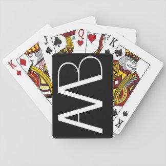 Axe Man's Bridge AMB Logo Playing Cards
