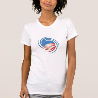 Axe Men Obama Hurricane Logo Ladies T-Shirt