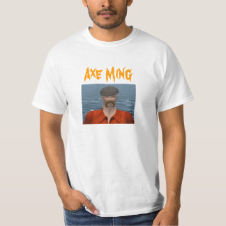 Axe Ming art on back Shirts