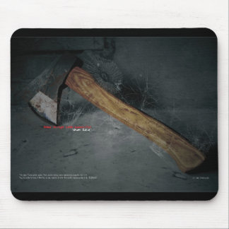 axe mouse pad