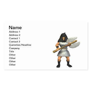 Axeman Pack Of Standard Business Cards