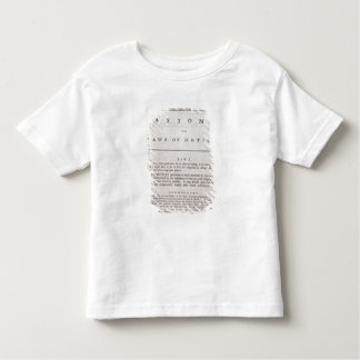 Axioms, or Laws of Motion, from Volume I Tee Shirts