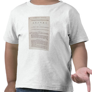 Axioms, or Laws of Motion, from Volume I T Shirt