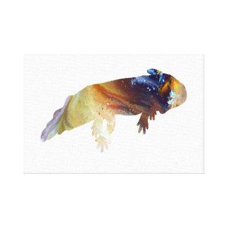 Axolotl Canvas Print