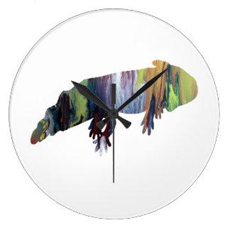 Axolotl Large Clock