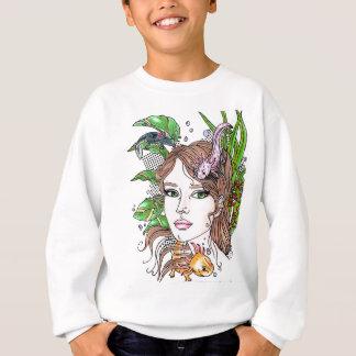 axolotl love sweatshirt