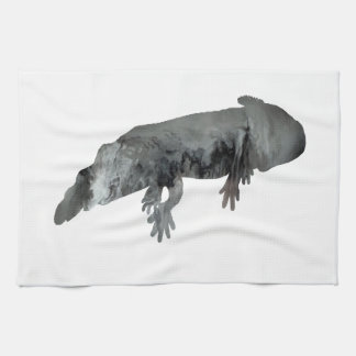 Axolotl Tea Towel